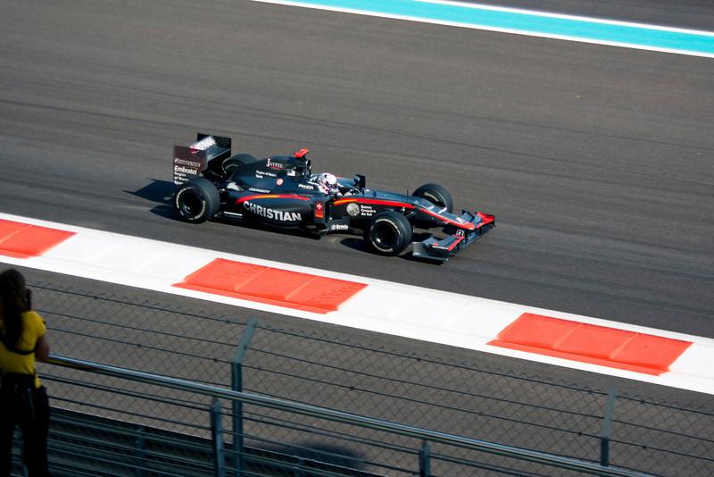 Car 20: Hispania Racing F1 Team (HRT), Christian Klein, 24th fastest in practice.