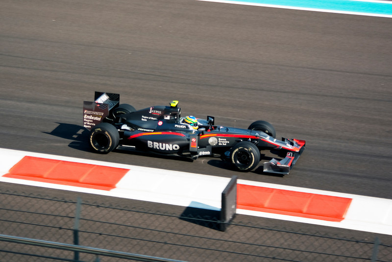 Car 21: Hispania Racing F1 Team (HRT), Bruno Senna, 22nd fastest in practice.