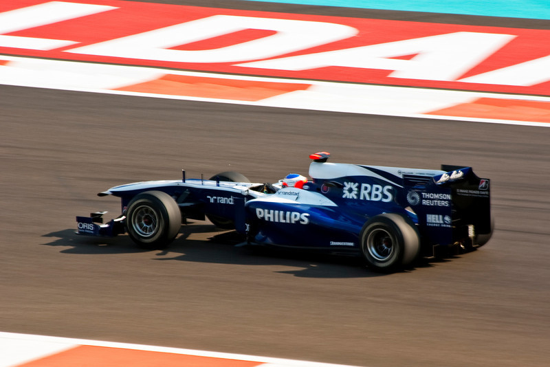 Car 9: AT&T Williams, Rubens Barrichello, finished 13th in practice.