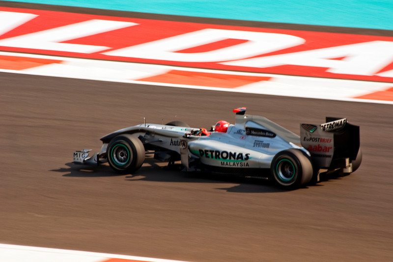 Car 3: Mercedes GP Petronas F1 Team, Michael Schumacher, finished 7th in practice.