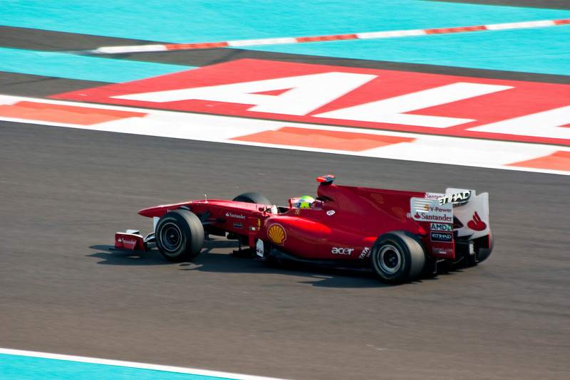 Car 7: Scuderia Ferrari Marlboro, Felipe Massa, 12th fastest in practice.