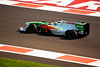 Car 14: Force India F1 Team, Adrian Sutil, 15th fastest in practice.