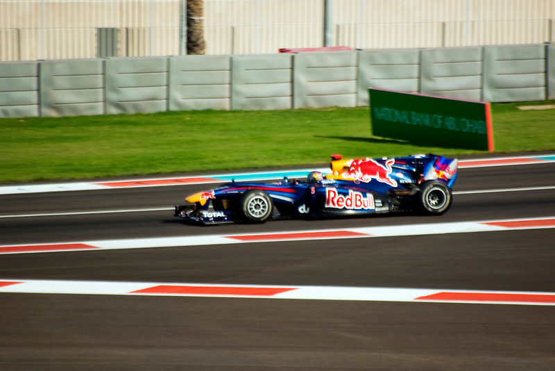 Car 5: Red Bull Racing, Sebastian Vettel, finished first in practice.