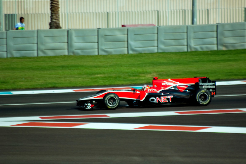 Car 24: Virgin Racing, Timo Glock, finished 21st in practice.