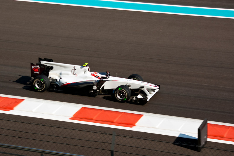 Car 23: BMW Sauber F1 Team, Kamui Kobayashi, 14th fastest in practice.