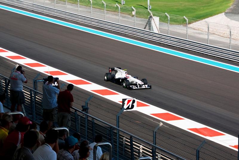 Car 23: BMW Sauber F1 Team, Kamui Kobayashi, 14th fastest in practice.