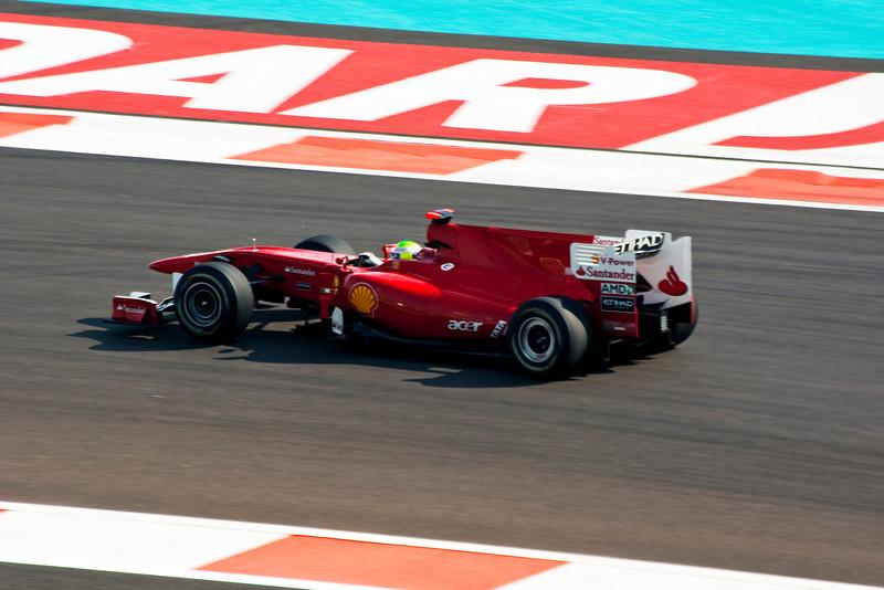 Car 7: Scuderia Ferrari Marlboro, Felipe Massa, 12th fastest in practice.