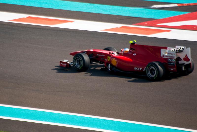 Car 8: Scuderia Ferrari Marlboro, Fernando Alonso, 4th fastest in practice.