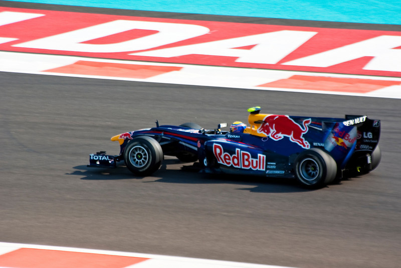 Car 6: Red Bull Racing, Mark Webber, 2nd fastest in practice.