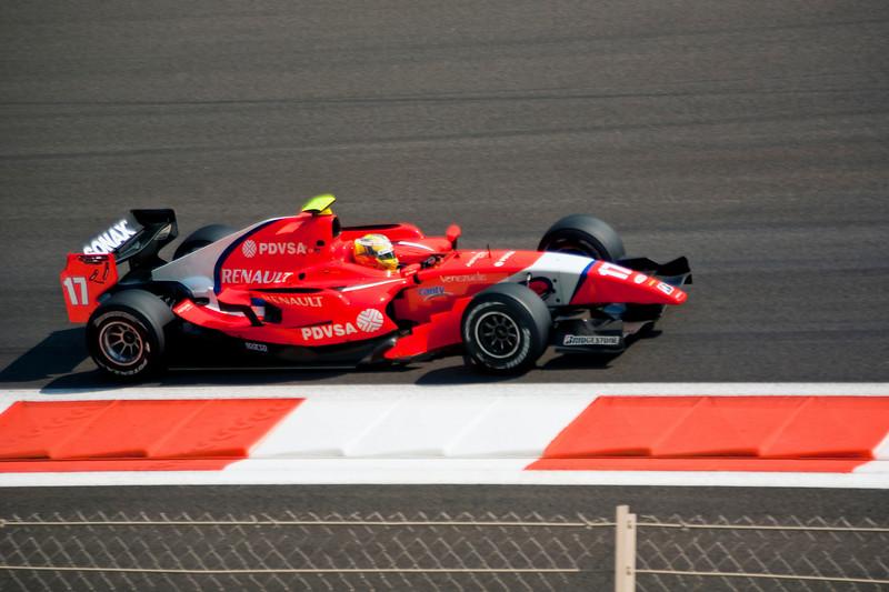 Car 17: Arden International Motorsport, Rodolfo González finished 17th.