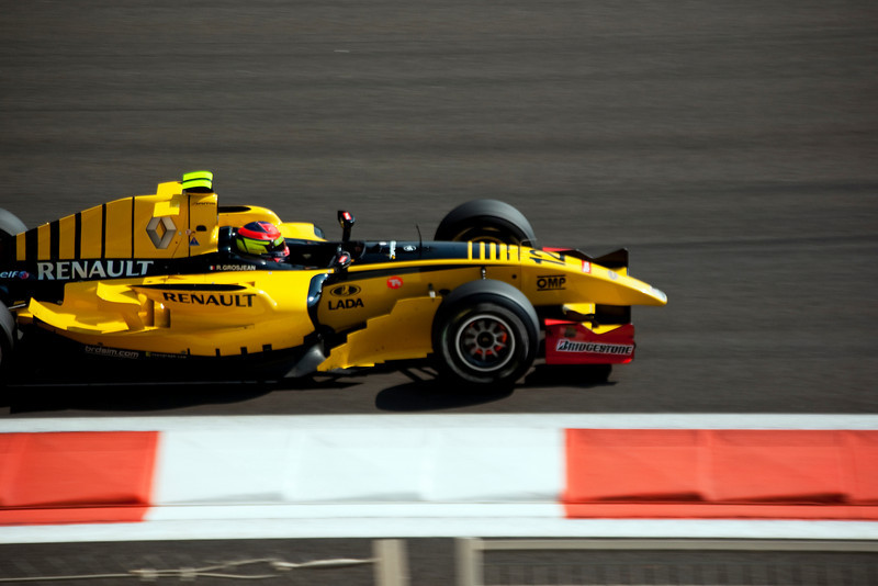 Car 12: DAMS, Romain Grosjean finished 3rd.