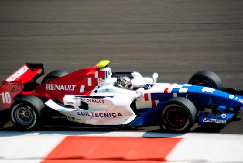 Car 10: ISport International, Davide Valsecchi finished 1st.