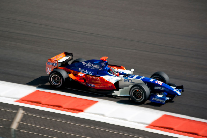 Car 24: Trident Racing, Federico Leo did not finish.