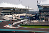 Start/Finish straight, Yas Marina Circuit.