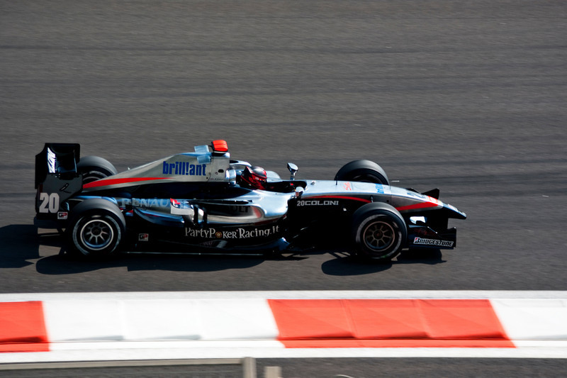 Car 20: Coloni, James Jakes, who finished the race in 18th position