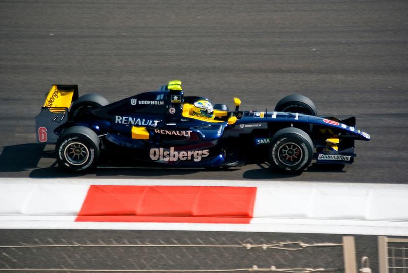 Car 6: Super Nova Racing, Marcus Ericsson did not finish.