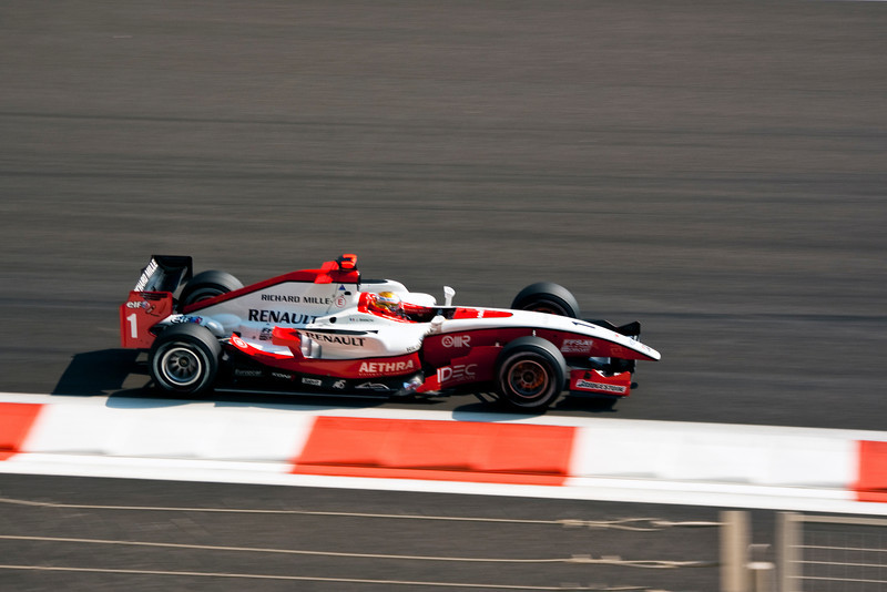 Car 1: ART, Jules Bianchi finished in 8th place.