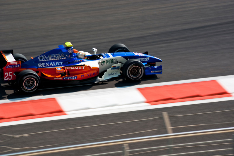 Car 25: The only appearance of Trident Racing's Adrian Zaugg of South Africa who, in the end, did not start the race.