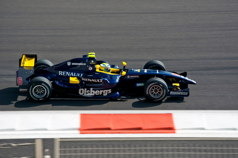 Car 6: Super Nova Racing, Marcus Ericsson, who, in the end, did not finish the race.