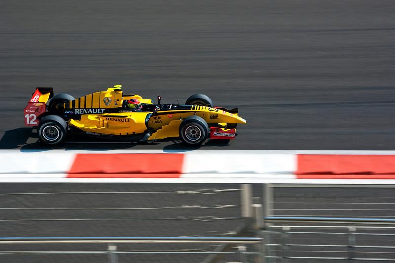 Car 12: DAMS, Romain Grosjean finished 3rd in the race.