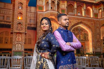 Yash & Dhruvi Garba 0013