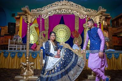 Yash & Dhruvi Garba 0022