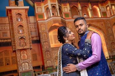 Yash & Dhruvi Garba 0010