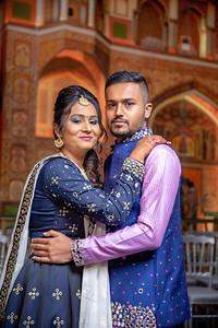 Yash & Dhruvi Garba 0005