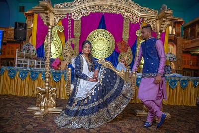 Yash & Dhruvi Garba 0017