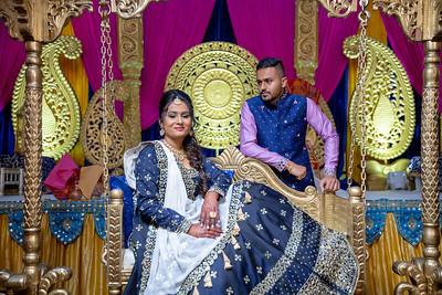 Yash & Dhruvi Garba 0023