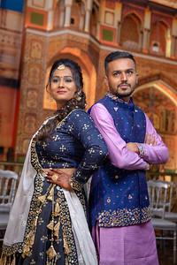 Yash & Dhruvi Garba 0016