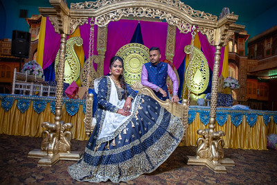 Yash & Dhruvi Garba 0025