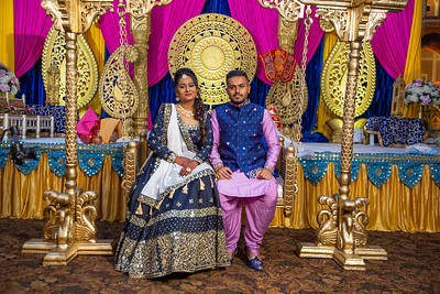 Yash & Dhruvi Garba 0040