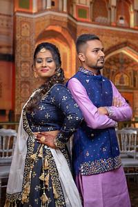 Yash & Dhruvi Garba 0014