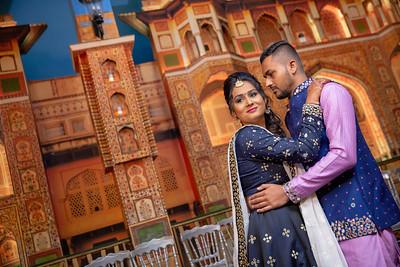 Yash & Dhruvi Garba 0012
