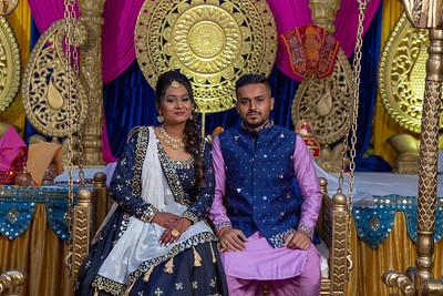 Yash & Dhruvi Garba 0039