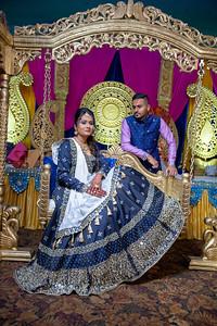 Yash & Dhruvi Garba 0027