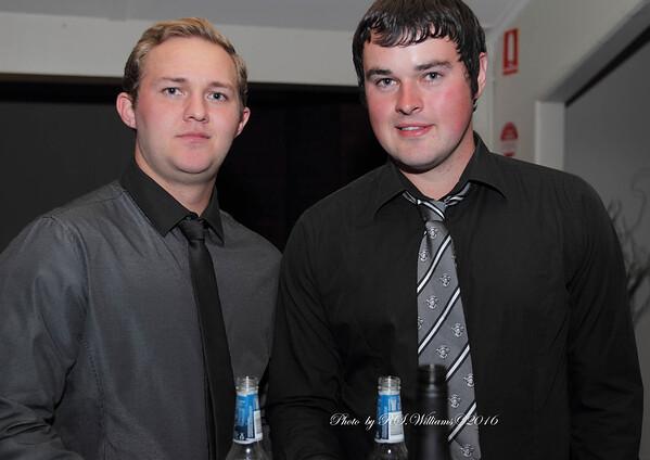 "Daniel ""Champion"" Wallace & Brendan Cooke."
