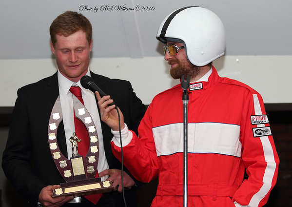 Brendan Madden (Top Points Scorer 2016) and Jim Davies.