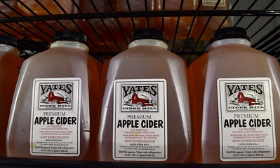 Inside Yates Cider Mill, 1990 Avon Road in Rochester Hills on Thursday, May 10, 2017.