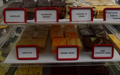 Fudge at Yates Cider Mill, 1990 Avon Road in Rochester Hills on Thursday, May 10, 2017.