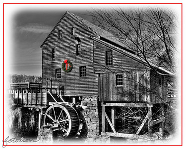 Yates Mill December 2010