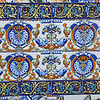 Beautiful tilework can found in the area on the exterior of the Columbia  resturant, Ybor City.