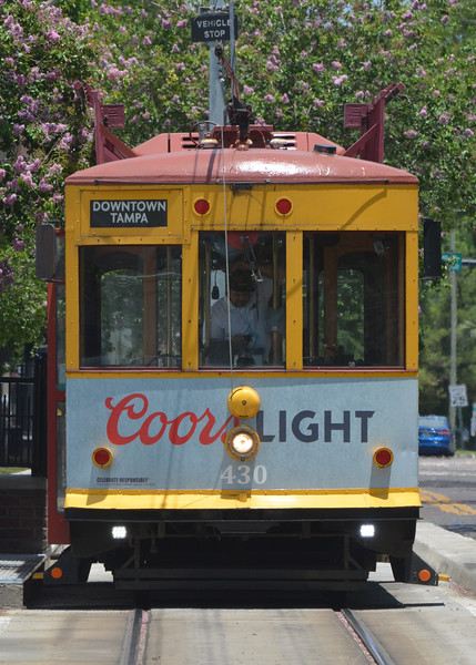 TECO streetcar line provides some of the transporation around Ybor city,  a National Historic district.