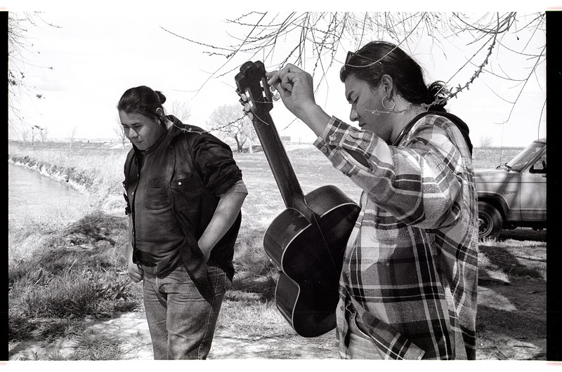 Ray and Morris...<br /> We use to be able to hang out by the edge of the Rio Grande.