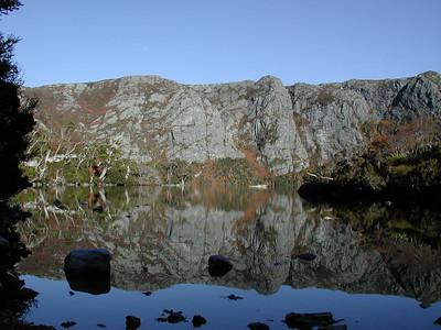 Cradle Lake, Fagus in autumn color, worth the climb!