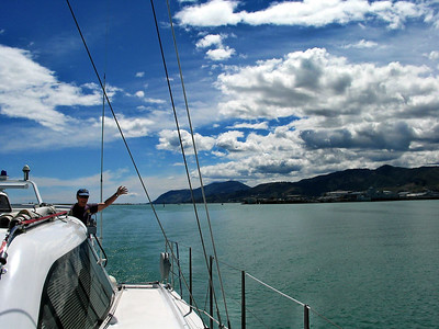 30 Dec 2003: Our great friend David  has joined us for the passage up the east coast of New Zealand!