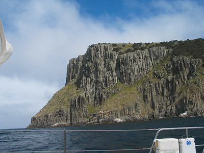 And Tasman Island to starboard.