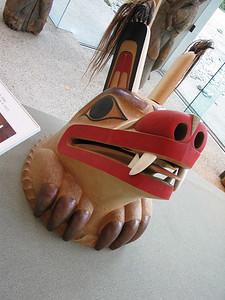 U of BC Museum of Anthropology - wolf mask