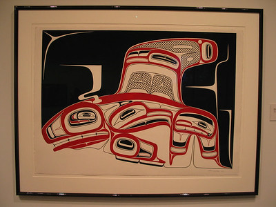 U of BC Museum of Anthropology - Contemporary art by Robert Davidson